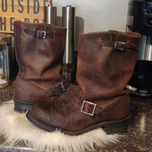 Frye engineer 12r boots 9